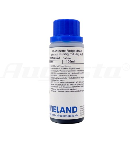 RHODINETTE ROTGOLDBAD 100 ml