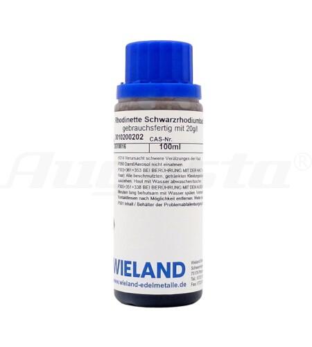 RHODINETTE SCHWARZRHODIUMBAD 100 ml