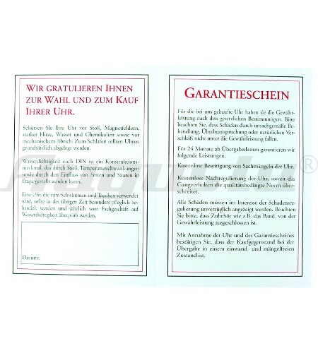 GARANTIESCHEIN