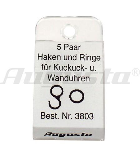 HAKEN + RINGE FÜR KUCKUCKS- UND WANDUHREN