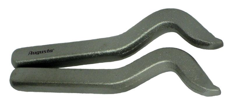 Karatstempel Au, gebogen, 1 mm