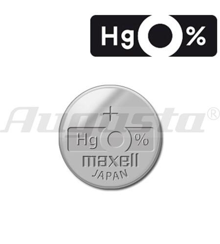 MAXELL Knopfzellen SR 41 W Quecksilberfrei