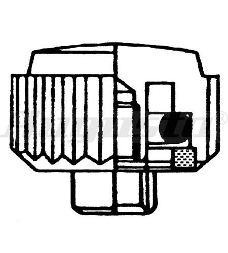 KRONEN MIT O-RING - KURZHALS 4,5x0,9 T2,0 mm