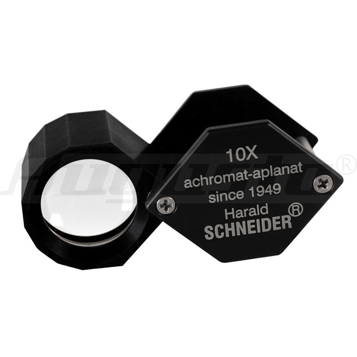 SCHNEIDER DIAMANT LUPE STANDARD VERGRÖßERUNG 10X, SEHFELD 18 MM