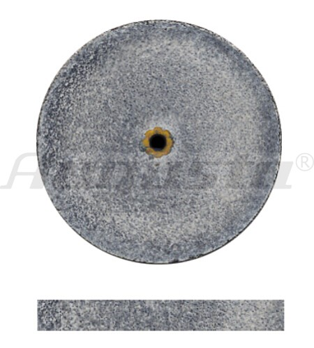 DEDECO Schleifrad schwarz Ø 25 X 3,1 mm grob