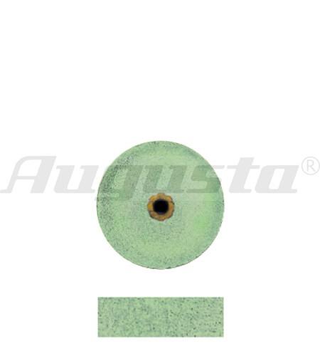 DEDECO Schleifrad grün Ø 12 X 4,8 mm fein