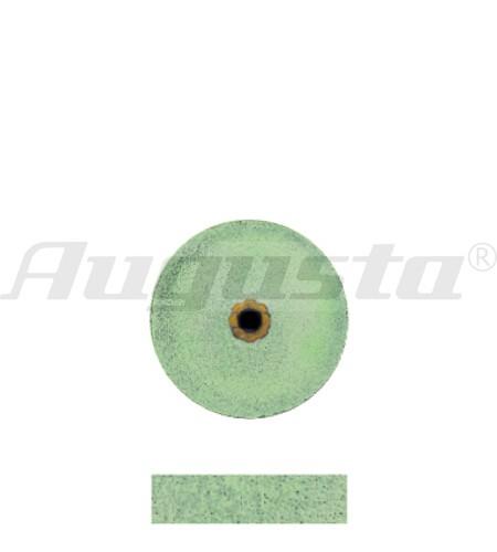 DEDECO Schleifrad grün Ø 12 X 3,1 mm fein