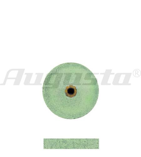 DEDECO Schleifrad grün Ø 12 X 2,4 mm fein