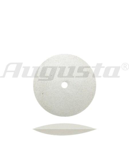 DEDECO Polierlinse weiß Ø 15,8 mm