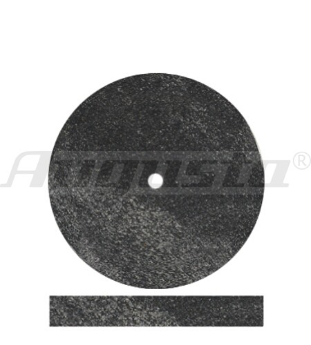DEDECO Polierrad schwarz Ø 22 mm
