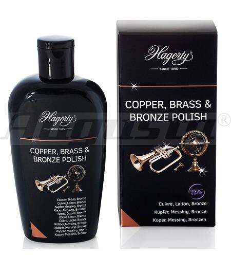 HAGERTY COPPER, BRASS & BRONZE POLISH 250 ml