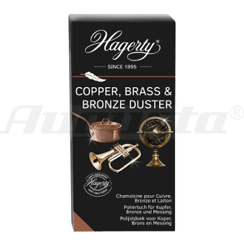 HAGERTY COPPER, BRASS & BRONZE DUSTER 36 x 55 cm