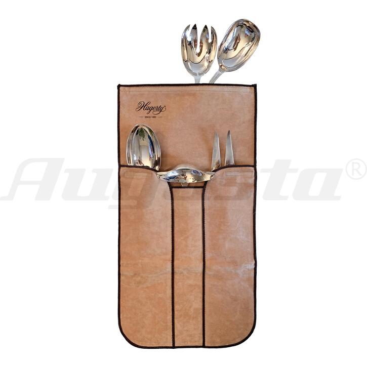 HAGERTY SILVER GUARD - Tasche für 5 Stück Servierbesteck