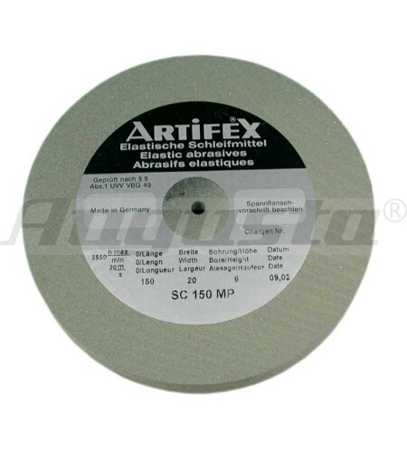 ARTIFEX Schleifscheibe 400 MP 75 X 10 X 6 mm