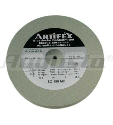 ARTIFEX Schleifscheibe 80 WP 100 X 20 X 6 mm