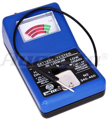 Batterieprüfgerät mit Analoganzeige