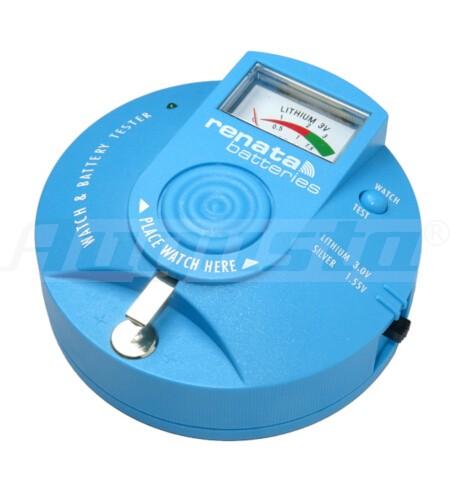 RENATA Prüfgerät für Knopfzellen und Lithiumbatterien