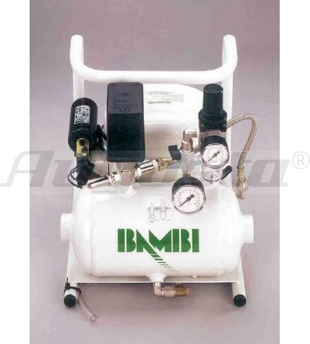 Flüster-Kompressor BAMBI Mod. 35/20 - 12 bar