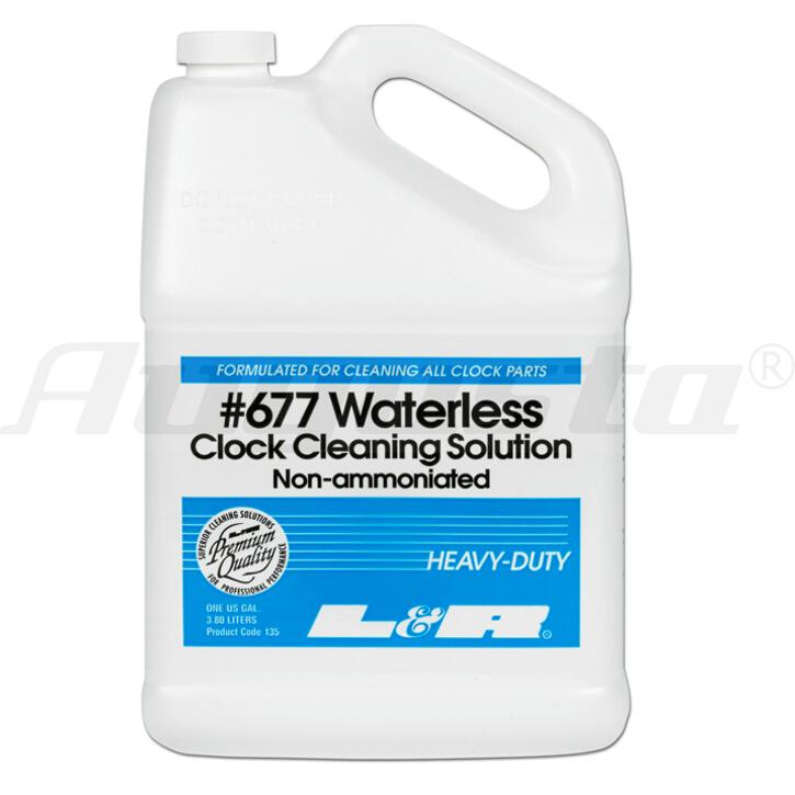 L&R #677 Reinigungslösung für Uhren 3,8 l