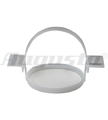 Ultraschall-Einsatzkorb oval mit Henkel und Auflage