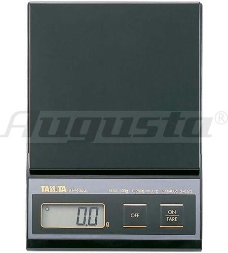 TANITA Taschenwaage KP 400 M 200 g/ 0,1 g  -  400 g/ 0,2 g