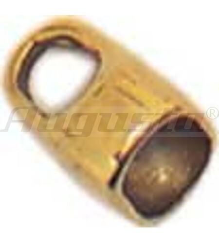 GEGENÖSEN 5 MM GOLD 585 FÜR KARABINER