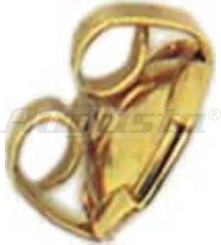 PATENTMUTTER GOLD 333 (6) MIT EINLAGE UND FLÜGEL