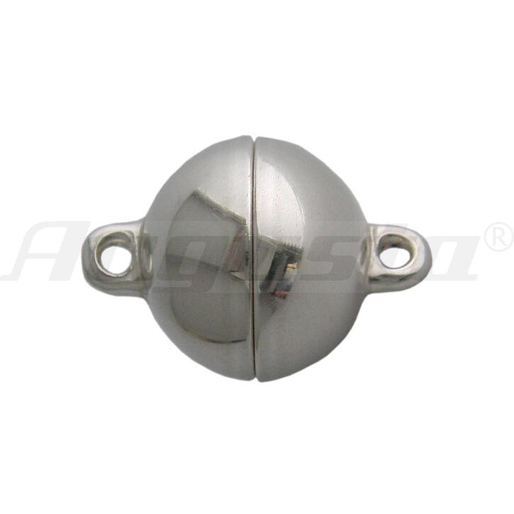 Magnetschließe Kugel, Edelstahl 8 mm