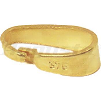 SCHLAUFEN GLATT 7,5  MM GOLD 333