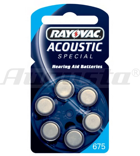 RAY-O-VAC Hörgerätebatterien 675 Zink-Air