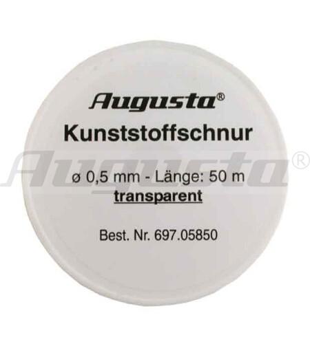 KUNSTSTOFFSCHNUR 0,8 MM UNELASTISCH 50 m auf Rolle