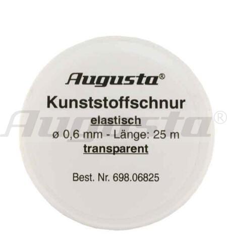 KUNSTSTOFFSCHNUR 0,6 MM ELASTISCH 25 m auf Rolle