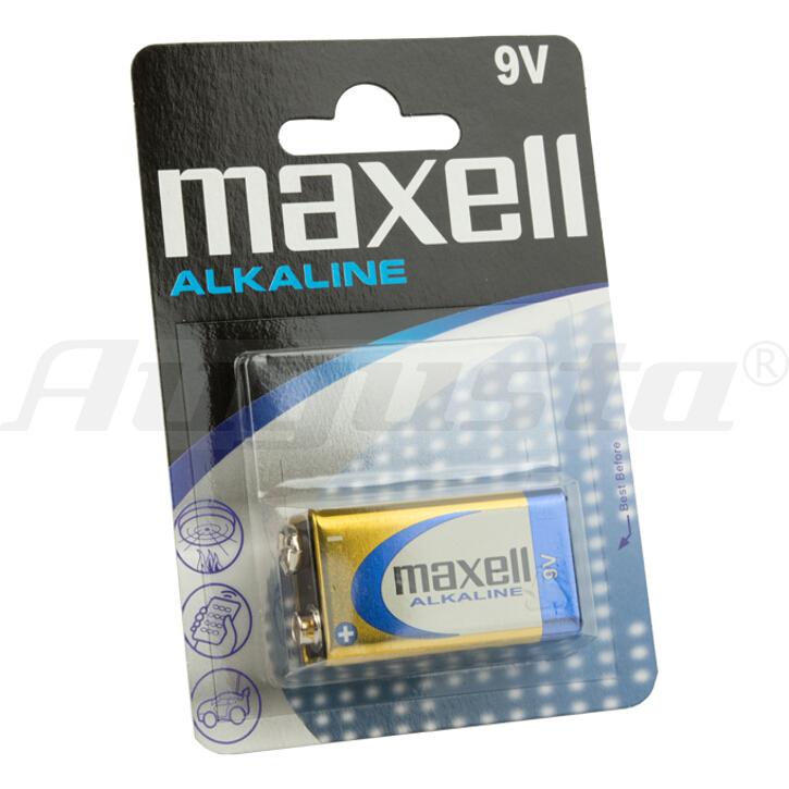 MAXELL Batterie E-Block 9V / 6 LR 61 1er Blister
