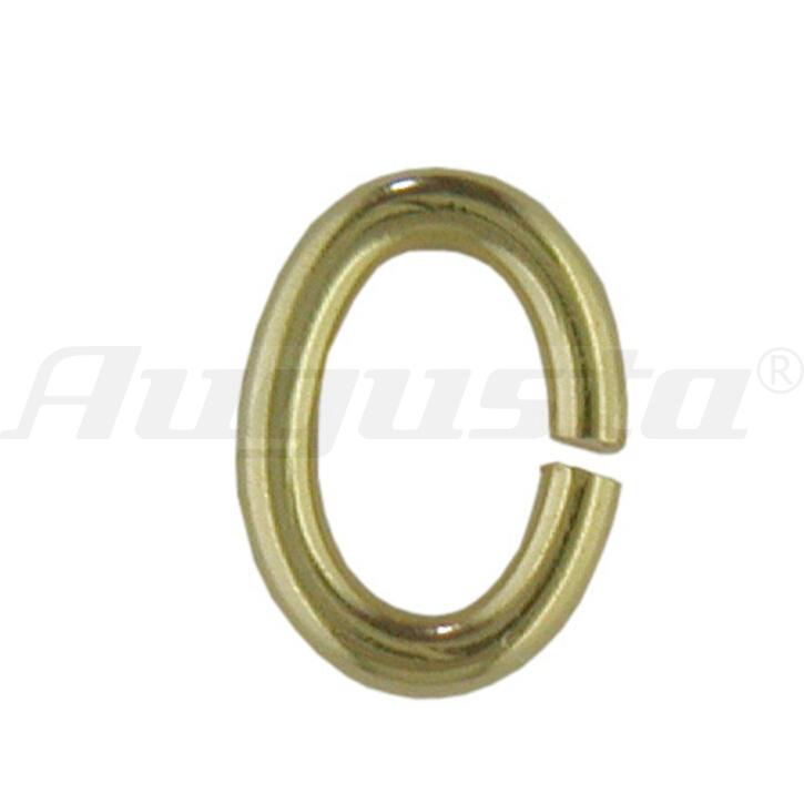 Binderinge oval, Gold 333, 5 mm