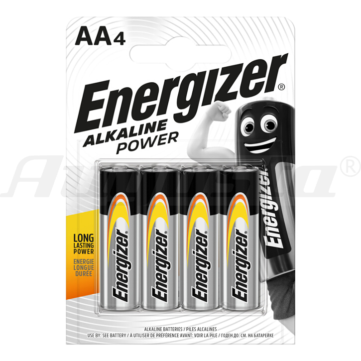 ENERGIZER BATTERIEN MIGNON AA - LR6  ALKALINE POWER AA - LR6  ALKALINE POWER