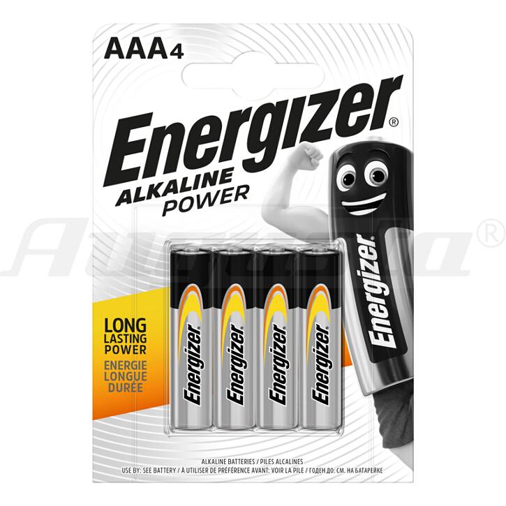ENERGIZER BATTERIEN MICRO AAA - LR03  ALKALINE POWER AAA - LR03  ALKALINE POWER