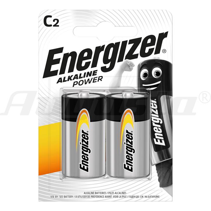 ENERGIZER BATTERIEN BABY C - LR14  ALKALINE POWER