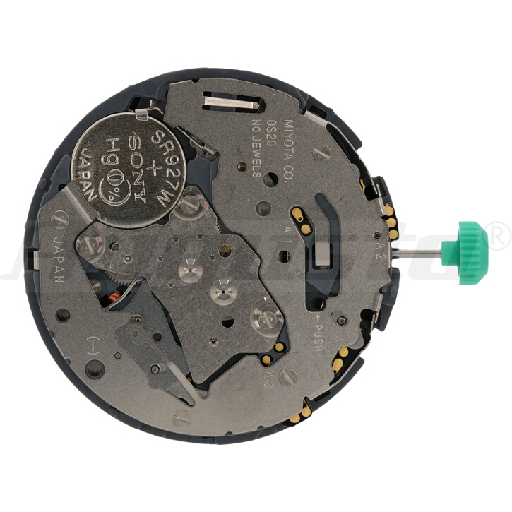 Armbanduhrwerk Quartz MIYOTA 0S 20 13 1/2 SC CLD CHR D4.5