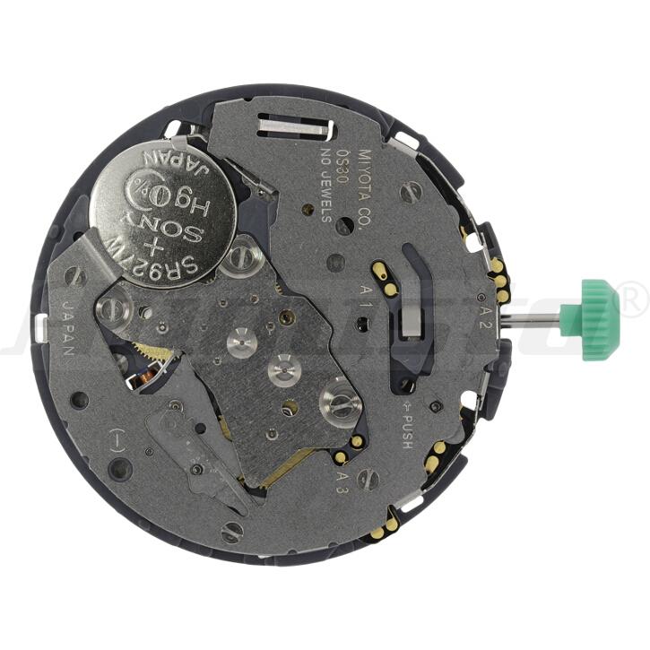 Armbanduhrwerk Quartz MIYOTA 0S 30 13 1/2 SC CHR