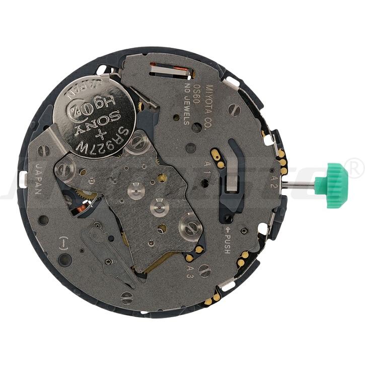 Armbanduhrwerk Quartz MIYOTA 0S 60 13 1/2 SC CLD CHR D3