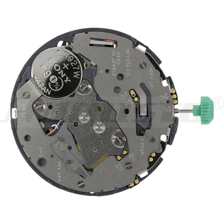 Armbanduhrwerk Quartz MIYOTA 0S 90 13 1/2 SC CLD CHR D3