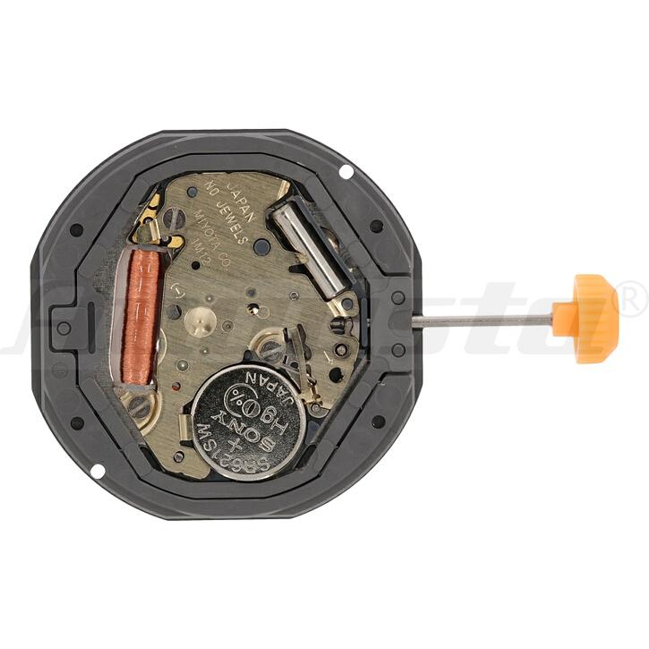 Armbanduhrwerk Quartz MIYOTA 1 M 12 10 1/2 SC CLD D6