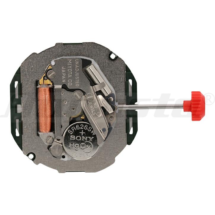 Armbanduhrwerk Quartz MIYOTA 2105 10 1/2 SC DD D3