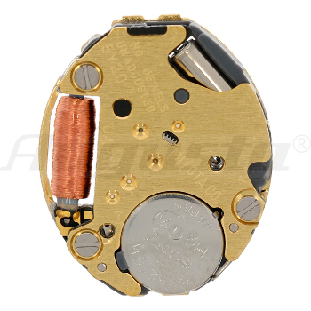 Armbanduhrwerk Quartz MIYOTA 5 Y 20 5 1/2 x 6 3/4