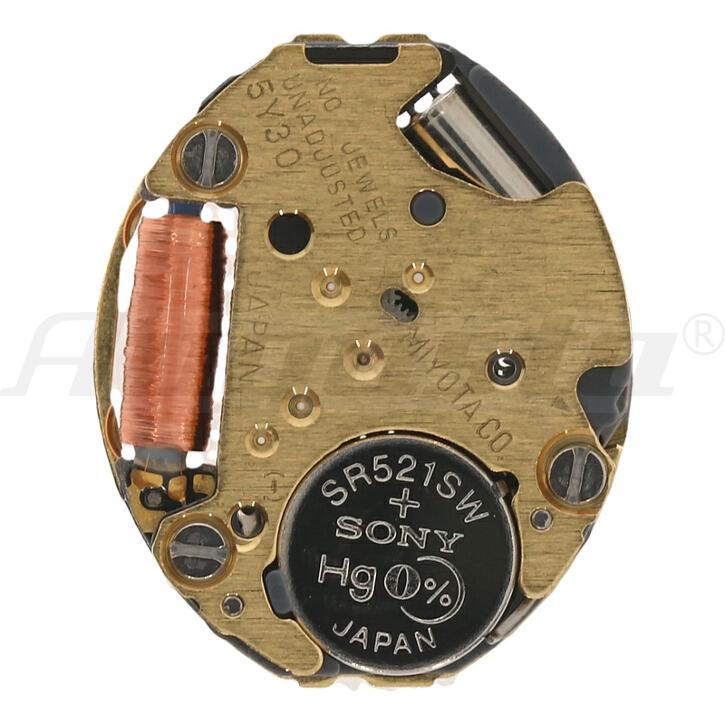 Armbanduhrwerk Quartz MIYOTA 5 Y 30 5 1/2 x 6 3/4 SC