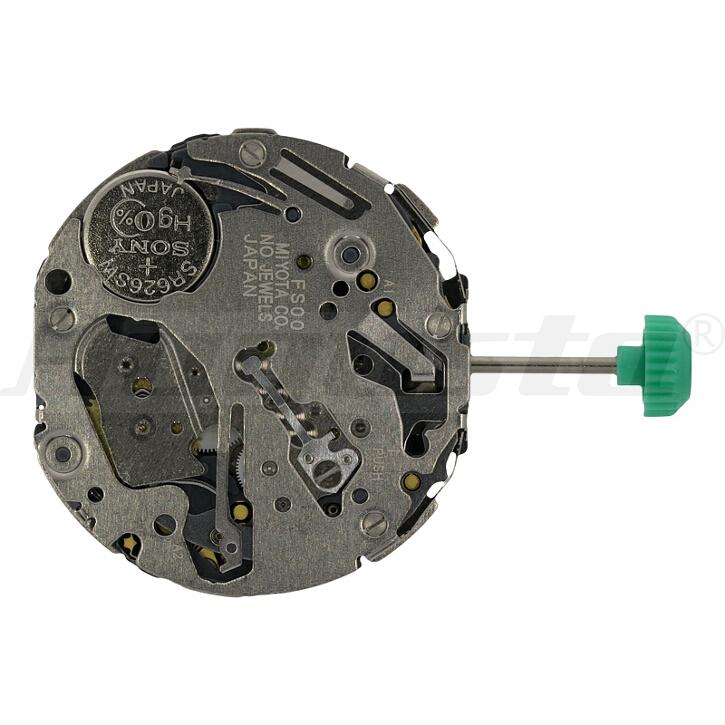 Armbanduhrwerk Quartz MIYOTA FS 00 10 1/2 SC CLD CHR D4