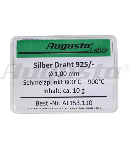 SILBER-DRAHT Ø 1,00 MM INHALT: 10 G