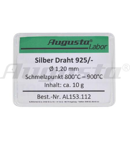 SILBER-DRAHT Ø 1,20 MM INHALT: 10 G