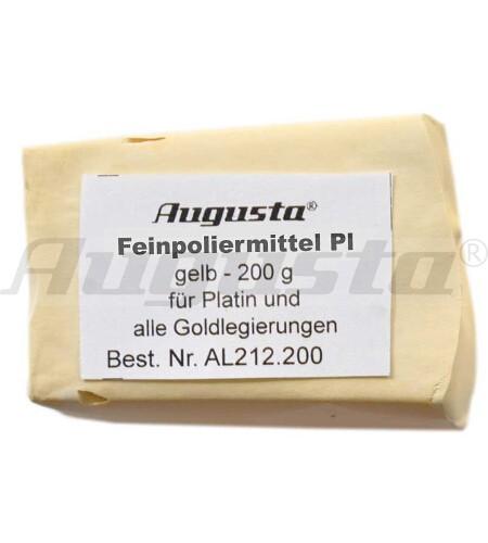 AUGUSTA FEINPOLIERMITTEL GELB  INHALT: 200 G