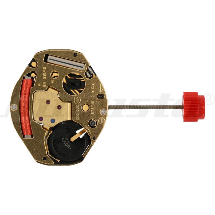 Armbanduhrwerk Quartz ETA 902.002 6 3/4 x 8 - H0,94 - SWISS MADE